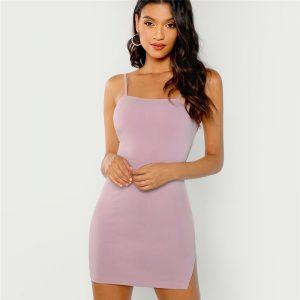 2ba50b3533c6 Knot Yellow One Shoulder Dress - Womens WebStore